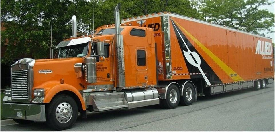 allied truck for moving services in Toronto